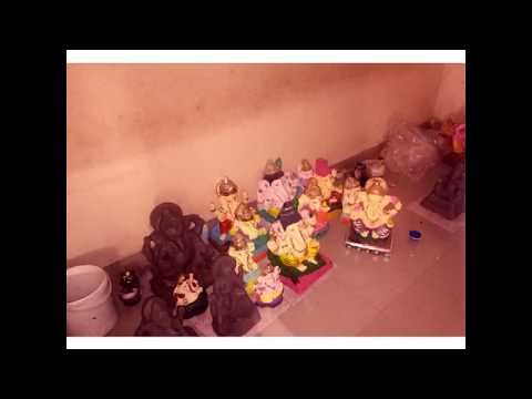 Eco-Friendly Ganesh Murti Making