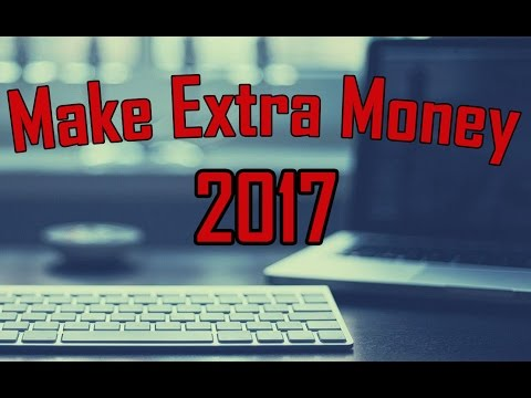 5 Side Jobs For Extra Money From Home – Make Extra Money 2017