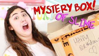 $200 MYSTERY SLIME BOX FOR MY BIRTHDAY?!?! Slimeatory #485
