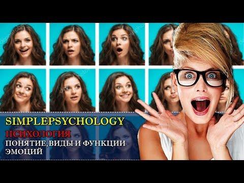 Психология. Понятие, виды и функции эмоций.