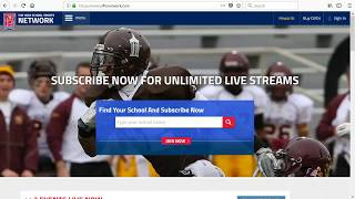 Creating NFHS Network Account
