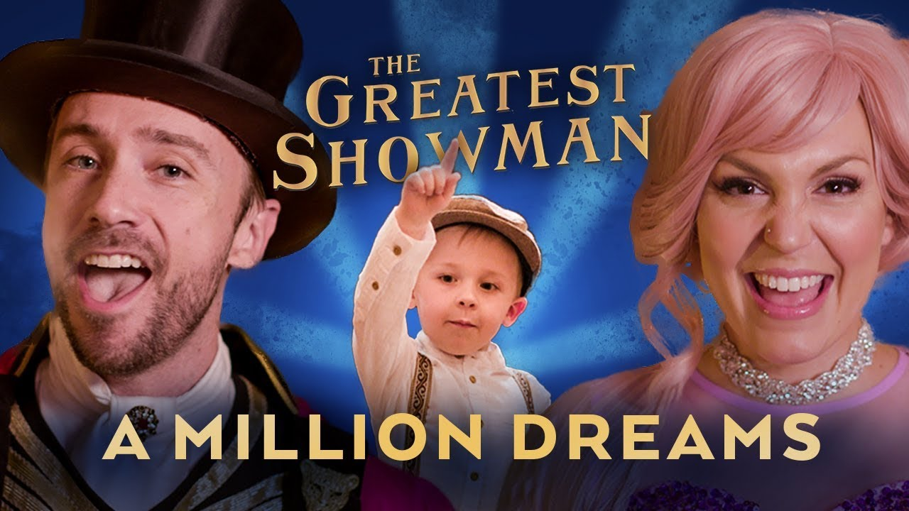 A Million Dreams Sung By 4 Year Old feat  Peter Hollens