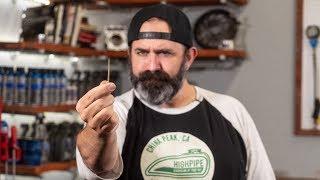 Inside A Motorcycle Carburetor - Needle Height Tuning Adjustment | MC Garage