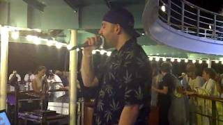 Me singing Beyond The Grey Sky @ The 311 cruise karaoke contest 2011