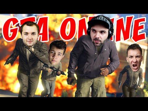 GTA V ONLINE ŽIVĚ | Pedro, House, Marwex a Mates - začátek cca 18:15