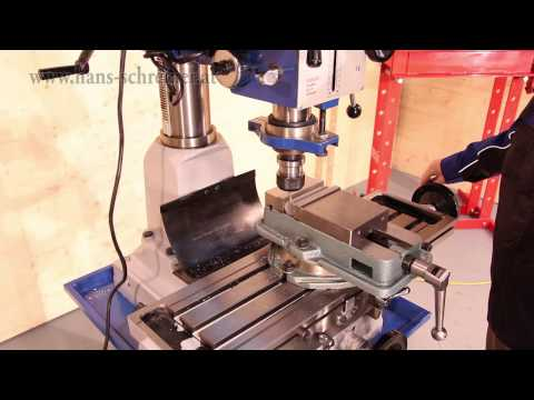 Bohr- und Fräsmaschine Hans Schreiner ZAY7040H