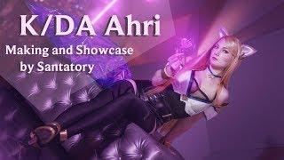 K/DA AHRI COSPLAY - making of and showcase