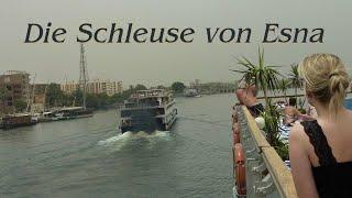 preview picture of video 'Ägypten,  Die Schleuse von Esna'