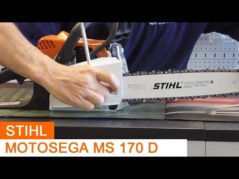STIHL MS 170 Benzin Säge Kettensäge Motorsäge 40cm 1.1 mm TOP Original+3xGRATIS