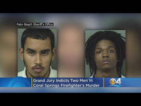 Grand Jury Indicts Two Men In Coral Springs Firefighter's Murder