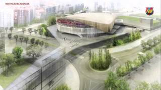 FC Barcelona's new Palau Blaugrana: The project