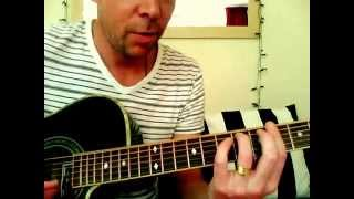 Flourescences (Stereolab) Acoustic Guitar Lesson