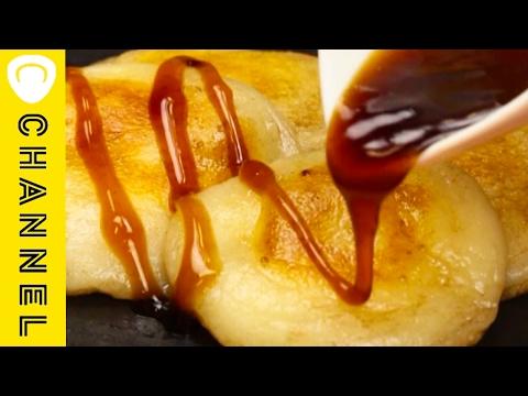 みたらしバターチーズ餅 │ Rice Dumpling in a Sweet Soy Sauce with Butter Cheese