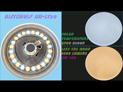 Blitzwolf BW-LT20 24W Smart LED Ceiling Light - Best Value 2020
