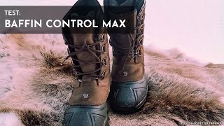 Ботинки baffin control max black