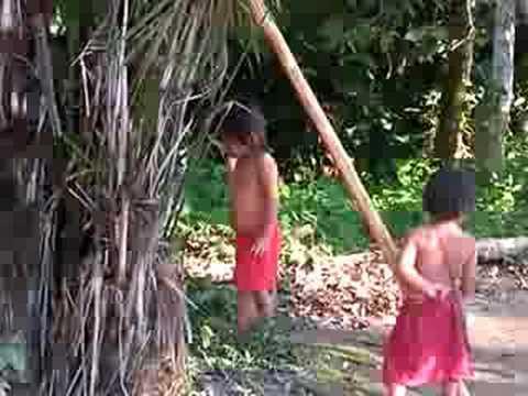 超超可愛的原住民小女孩(亞馬遜叢林小部落)
