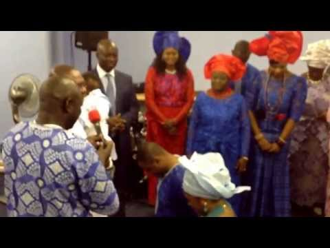 CCC OF GOD INT'L, Dedication of another battle axe for God, from the IGBINAKE FAMILY IN MANCHESTER