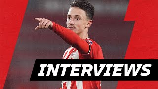 Boscagli, Malen & Madueke praise TEAMSPIRIT ? & are happy with the COMEBACK | INTERVIEWS PSV - PAOK