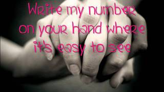 Write My Number On Your Hand - Scotty McCreery