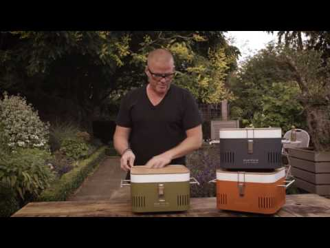 Everdure By Heston Blumenthal CUBE Charcoal Grill
