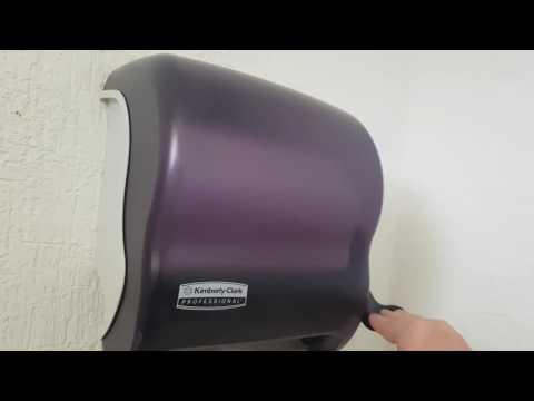 Como hackear dispensador de papel kimberly-Clark profesional