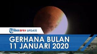 Gerhana Bulan Penumbra Pertama Kali di Tahun 2020, Terjadi di Tanggal 11 Januari Dini Hari