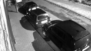 Kradzież bmw w Andrychowie