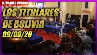 🔴 LOS TITULARES DE BOLIVIA 🇧🇴 ► 9 DE AGOSTO 2020 [ NOTICIAS DE BOLIVIA ] 👈