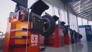 Станок для рихтовки дисков СИВИК Титан ALU Компакт - видео 1