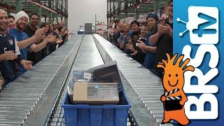 What's Shipping Out of the New BRS Warehouse?