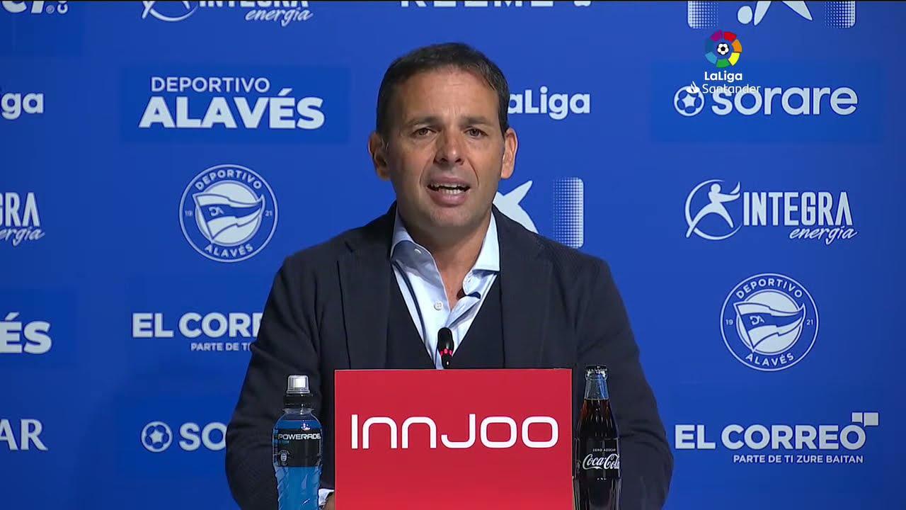 Rueda de prensa Deportivo Alavés vs CA Osasuna