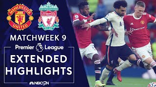 Manchester United v. Liverpool   PREMIER LEAGUE HIGHLIGHTS   10/24/2021   NBC Sports