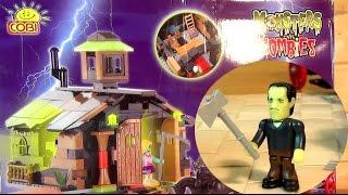 Зомби против Монстров - Конструктор аналог ЛЕГО - Монстры - COBI Monsters vs. Zombies