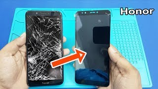 Honor 7C LCD Screen and Digitizer Replacement    How to Replace Honor 7C Broken Screen
