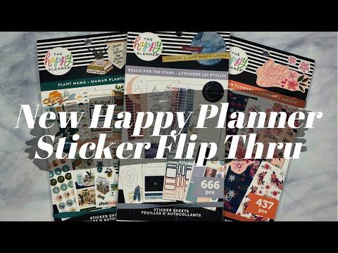 , title : 'New Happy Planner Stickers Flip Thru | Garden Flowers Plant Mama
