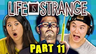 NOWHERE TO HIDE!!!!!!   LIFE IS STRANGE - Part 11 React: Gaming