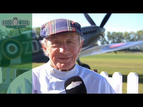 Sir Jackie Stewart reminisces over his love for Goodwood Revival