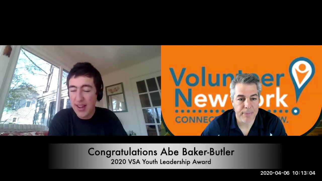 Interviews with winners from the 40th Annual Volunteer Spirit Awards