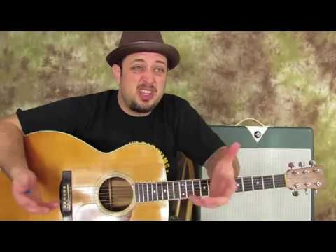 Acoustic Blues G Major Chord Progressions (For Older Beginners)