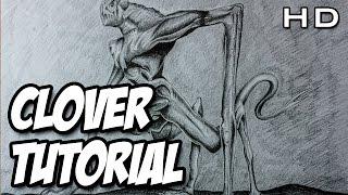 Cómo dibujar a Cloverfield a lápiz paso a paso, 10 Cloverfield Lane Monster