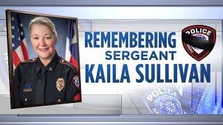 LIVE: Community says goodbye to fallen Sgt. Kaila Sullivan