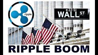 ripple breaking news  boom  wall streetamp nasdaq want a ripple ipo in 2018