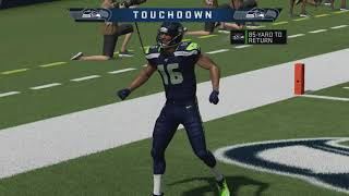 Madden NFL 20 - Minnesota Vikings vs Seattle Seahawks Rivalry Match