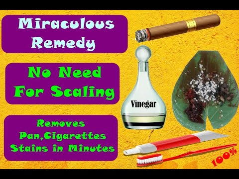 Dental Scaling Alternate Remedy