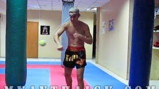 Тайский бокс Дома - Супер тренажер для отработки ударов