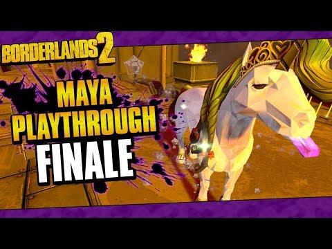 Borderlands 2 | Maya Reborn Playthrough Funny Moments And Drops | Finale