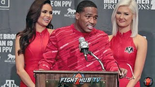 ADRIEN BRONER'S FULL POST FIGHT PRESS CONFERENCE -  PACQUIAO VS BRONER