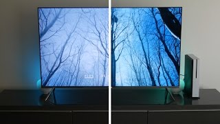 Xbox One S 4K HDR Ultra-HD Blu-Ray Test (Samsung KS8000)