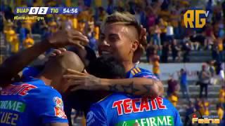 Lobos BUAP Vs Tigres 0-3 Jornada 14 Clausura 2019 Liga Mx