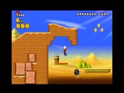 New Super Mario Bros 2 - Pièces Étoiles monde 2 - Star coins